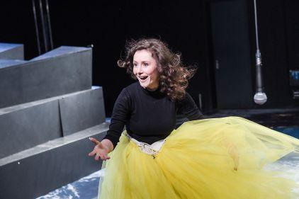 Maike Schroeter als Heidi Klum